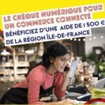 Cheque numérique Ile de France