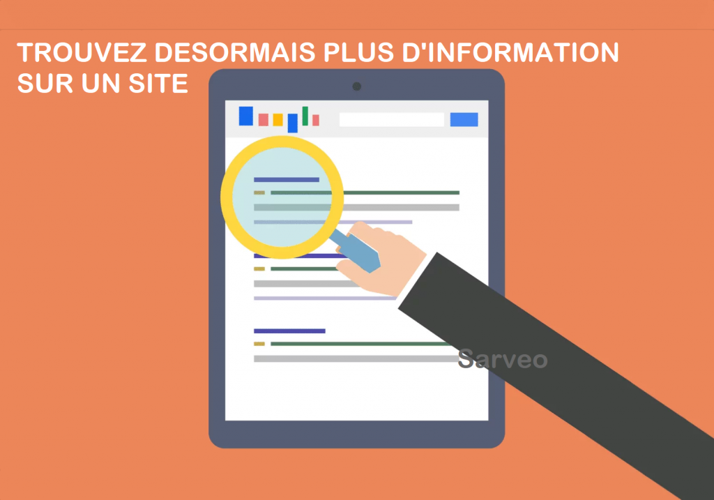 Information recherche Google